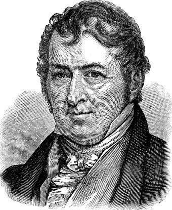 A picture of Eli Whitney, the inventor of the cotton gin, at middle-age.
